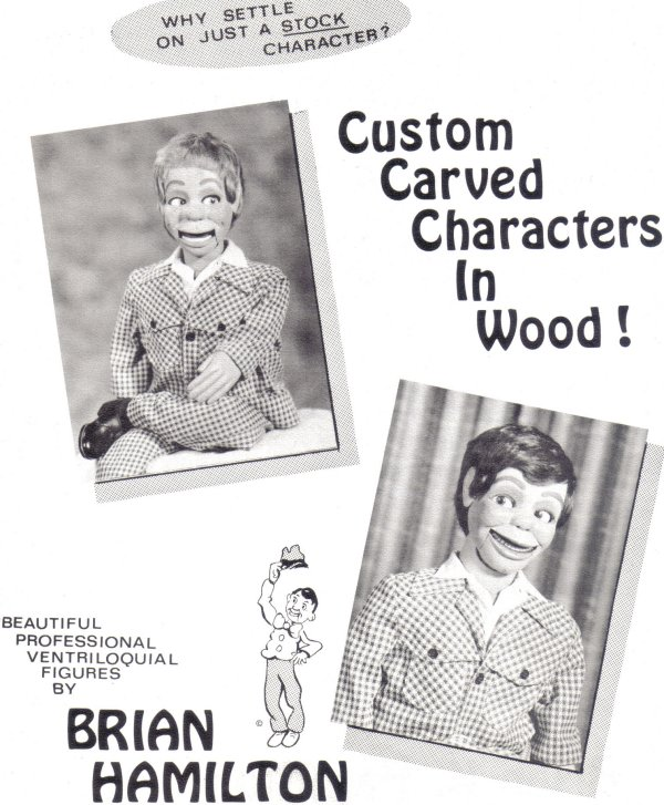 Ventriloquist Central - Dan Willinger - Brian Hamilton Figure Collection