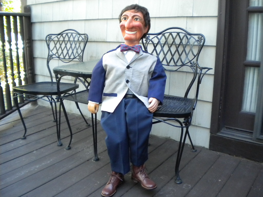 Ventriloquist Central |  Lucky Charlie a Rare Frank Marshall Figure